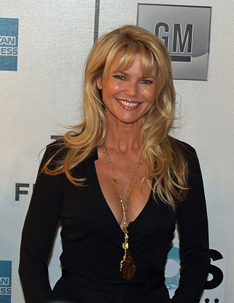 Uptown Girl - Christie Brinkley appears as the main character of the video and later married Joel.