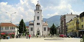 centre of Gostivar