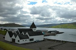 Church of Glyvrar, Faroe Islands.JPG