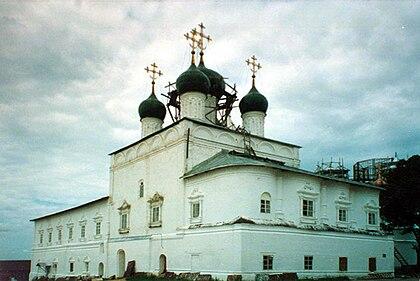 https://upload.wikimedia.org/wikipedia/commons/thumb/4/4d/Church_of_the_Annunciation_%28Nikitsky_Monastery%2C_Pereslavl-Zalessky%29_04.jpg/420px-Church_of_the_Annunciation_%28Nikitsky_Monastery%2C_Pereslavl-Zalessky%29_04.jpg
