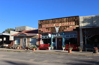 Cimarron, New Mexico Village in New Mexico, United States