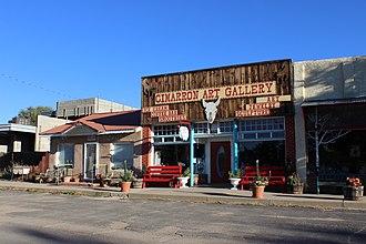 Cimarron, New Mexico - Downtown  Cimarron