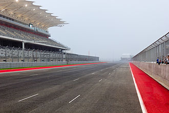 Del Valle, Texas - Image: Circuit of the Americas Main Straight