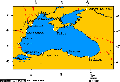 Cities of the Black Sea
