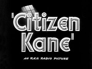 Final cut privilege - Image: Citizen Kane 1