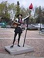 Ciudad Real - Estatua de don Quijote de la Mancha en el Museo Cervantes - panoramio.jpg