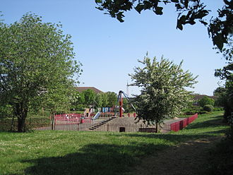 Clarefield Park - Image: Clarefield Park playground