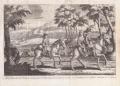 Clarendon's History of the Rebellion - P. La Vergne - Michael van der Gucht - Flight of Charles II - original scan.png