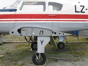 Clark Y - Clark YH wingroot of a Yak-18T