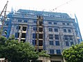 Classic-style building in construction in Hanoi.jpg