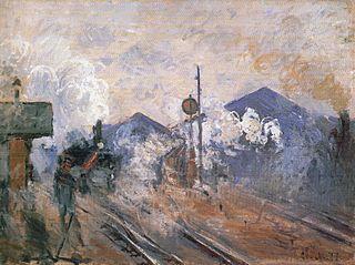 Train Tracks at the Saint-Lazare Station