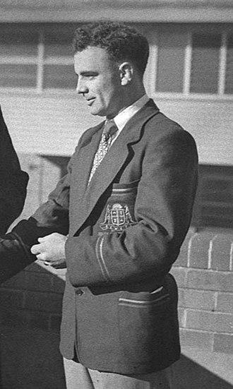 Clive Churchill - Churchill in 1952