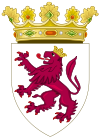 Coat of Arms of León (1390-15th Century).svg