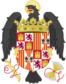 Coat of Arms of Queen Isabella of Castile (1474-1492).svg