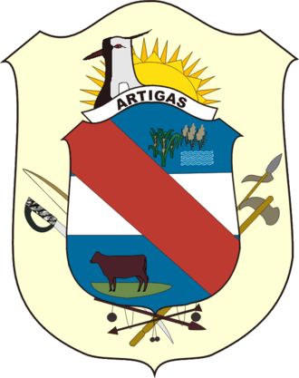 Artigas Department - Image: Coat of arms of Artigas Department