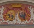 Coats of arms in Kurozweki palace.PNG