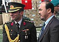 Col. Can Bolat poses with Minister Baz Mohammed Jawhari (4699939030).jpg
