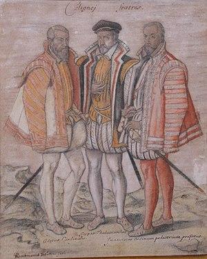 Coligny Brothers Gaspard Odet Francois