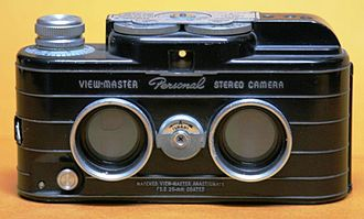 Sawyer's - The View-Master Personal Stereo Camera was introduced in 1952.
