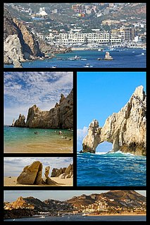 Cabo San Lucas City in Baja California Sur, Mexico