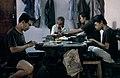 Collectie NMvWereldculturen, TM-20022176, Dia, 'Zilversmeden aan het werk', fotograaf Jaap de Jonge, 1986.jpg
