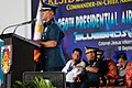 Colonel Allen T. Paredes gives welcome remarks.jpg