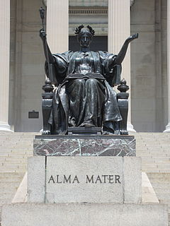 Alma mater school or university that a person has attended