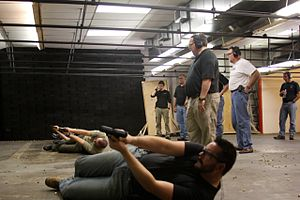 Combat focus class at memorial shootingcenter
