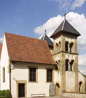 Comburg - Image: Comburg Kirche 1