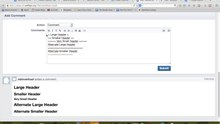 File:Comment mark up in phabricator.webm