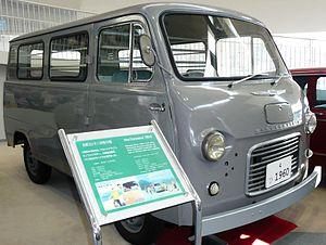 Hino Briska - Hino Commerce delivery van built on Hino Briska chassis.