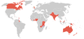 Commonwealth games 1970 countries map.PNG