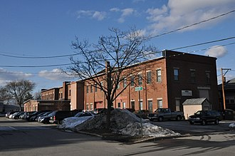 National Register of Historic Places listings in Merrimack County, New Hampshire - Image: Concord NH 2 Half Beacon Street