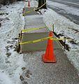 Concrete slabs still warm after setting on a sidewalk in New Jersey.jpg