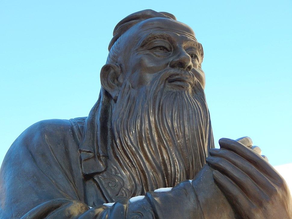 Confucius' statue in China (1)