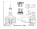Congregational Church, State Route 77, Riceville, Crawford County, PA HABS PA,20-RICVI,1- (sheet 3 of 4).png