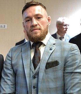 Conor McGregor Irish mixed martial arts fighter