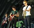 Console Wars at Chapelfield Gardens Music Festival in Norwich ENGLAND July 2010.jpg