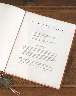Constitution sceau