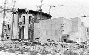 Bushehr Nuclear Power Plant - Construction of the Bushehr Nuclear Power Plant in the 1970s