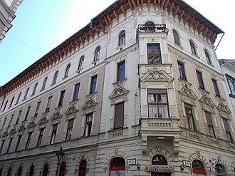 """Serbs in Hungary - Serbian Street (""""Szerb utca"""") in Budapest"""