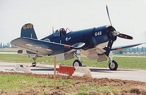 No. 22 Squadron RNZAF - Corsair FG-1D (Goodyear built F4U-1D) in the Royal New Zealand Air Force markings