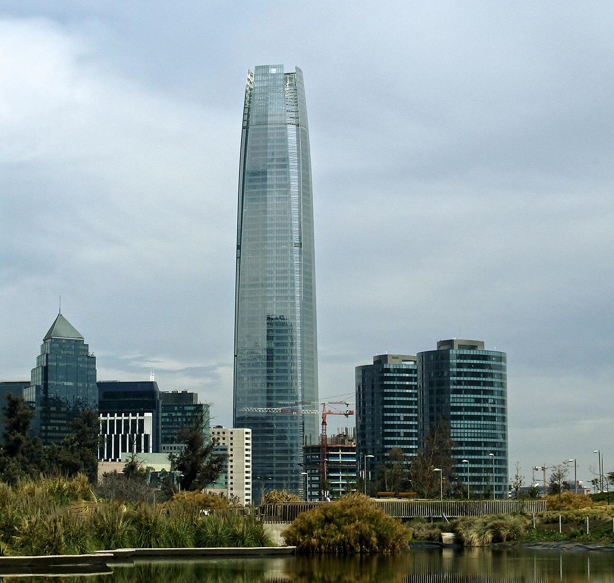 Gran torre santiago wikipedia la enciclopedia libre for Construccion de piscinas santiago chile