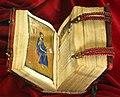 Costantinopoli, vangeli in greco commissionati da anna, 1285 (pluteo 6.28) 01.jpg