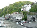 Cottages and lime kiln, Clovelly - geograph.org.uk - 1364540.jpg