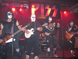 Tribute act - Tribute Act to Kiss
