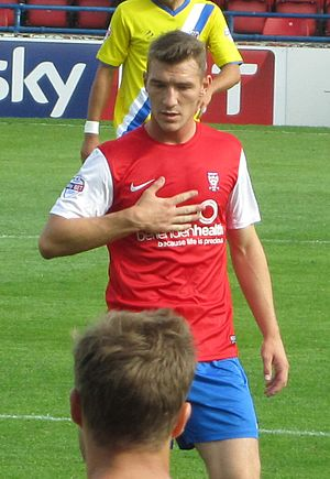 Craig Clay - Clay playing for York City in 2013