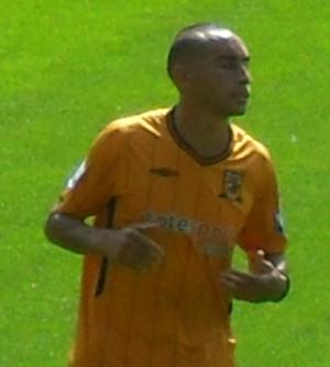 Craig Fagan - Fagan playing for Hull City in 2009