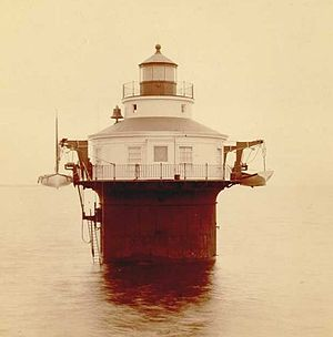 Craighill Channel Lower Range Front Light - 22 August 1885