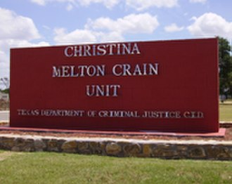 Incarceration of women in the United States - Christina Crain Unit, a state prison for women in Gatesville, Texas